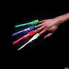 Fiber Optic Light-Up Finger Beams