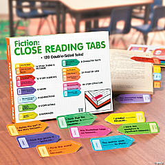 Fiction Close Reading Tabs