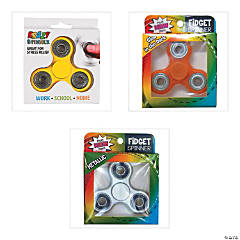Fidget Spinner Assortment - 24 Pc.