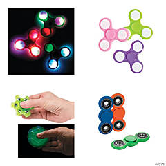 Fidget Spinner Assortment - 48 Pc.