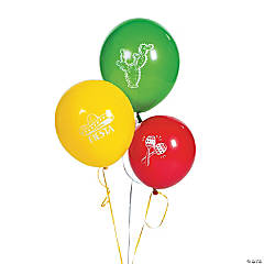 "Fiesta 11"" Latex Balloons"