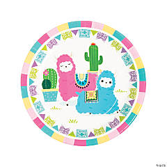 Fiesta Baby Cactus Paper Dinner Plates - 8 Ct.