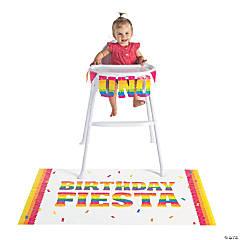 Fiesta Birthday High Chair Decorating Kit