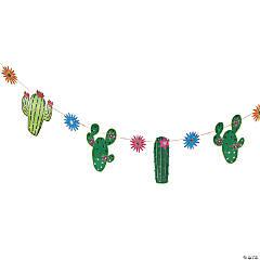 Fiesta Cactus Flower Garland