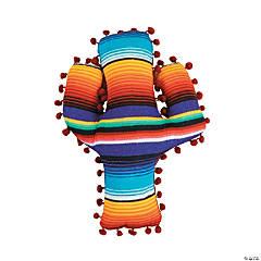 Fiesta Cactus Sarape Pillow