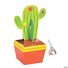 Fiesta Cactus Treat Boxes