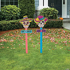 Fiesta Day of the Dead Yard Stakes