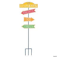 Fiesta Directional Yard Sign