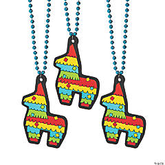 Fiesta Donkey Jumbo Charm Beaded Necklaces