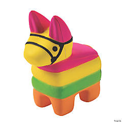 Fiesta Donkey Piñata Squishies