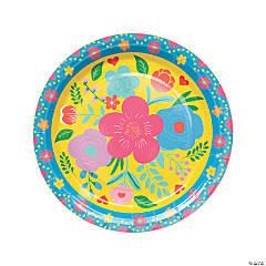 Fiesta Floral Bright Dinner Plates