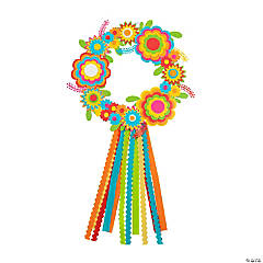 Fiesta Flower Wreath Craft Kit