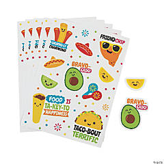 Fiesta Fun Foods Sticker Sheets