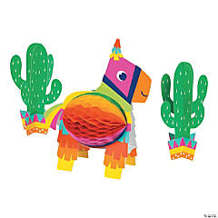 Fiesta Fun Honeycomb Centerpiece Set
