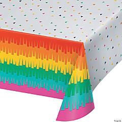Fiesta Fun Plastic Tablecloth