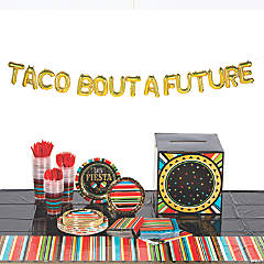 Fiesta Grad Tableware Kit for 24 Guests