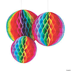 Fiesta Hanging Honeycomb Decorations
