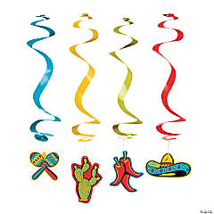 Fiesta Hanging Swirls