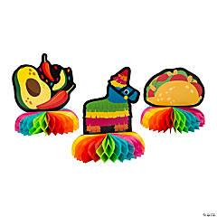Fiesta Honeycomb Centerpieces