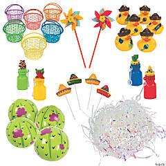 Fiesta May Day Baskets Kit for 24