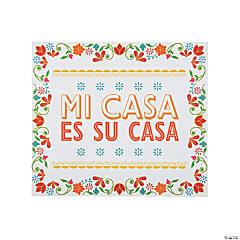 Fiesta Mi Casa Mi Familia Sign