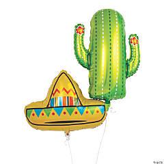 Fiesta Mylar Balloons