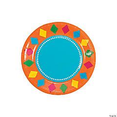 Fiesta Party Dessert Plates