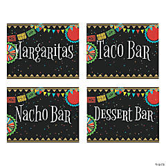 Fiesta Party Food Signs