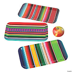 Fiesta Sarape Paper Serving Trays