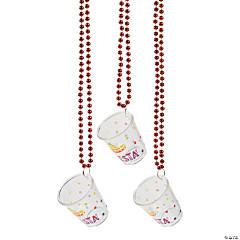 Fiesta Shot Glass Bead Necklaces