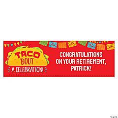 Fiesta Taco Custom Banner - Large