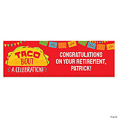 Fiesta Taco Custom Banner - Medium