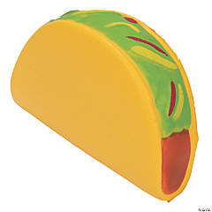 Fiesta Taco Slow-Rising Squishies