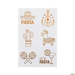 Fiesta Temporary Tattoos
