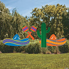 Fiesta Yard Signs