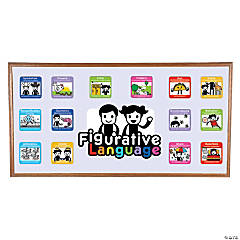 Figurative Language Mini Bulletin Board Set