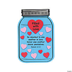 Filled with Love Mason Jar Craft Kit