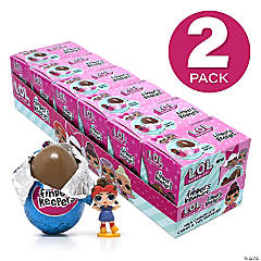 FINDERS KEEPERS L.O.L. Milk Chocolate Candy Egg & Toy Surprise, 6 Count