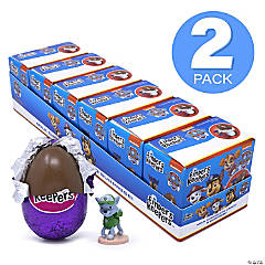 FINDERS KEEPERS Paw Patrol Milk Chocolate Candy Egg & Toy Surprise, 6 Count