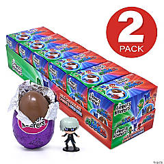 FINDERS KEEPERS PJ Masks Milk Chocolate Candy Egg & Toy Surprise, 6 Count