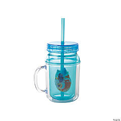 Finding Dory Canning Jars with Straw