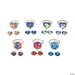 Finding Dory Days of the Week Jewelry Set