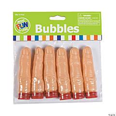 Finger-Shaped Bubble Bottles - 36 Pc.