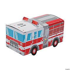 Fire Truck Favor Boxes - 12 Pc.