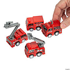 Fire Truck Pull-Back Toys