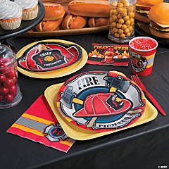 Firefighter Party Supplies Decorations