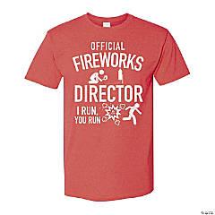 Fireworks Director Adult's T-Shirt - Large