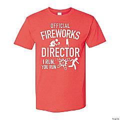 Fireworks Director Adult's T-Shirt