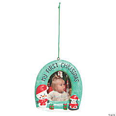 First Christmas Picture Frame Ornament