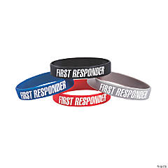 First Responder Awareness Bracelets